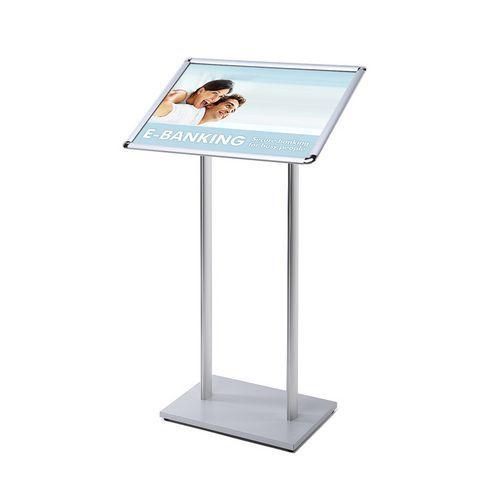 Jansen Display Informační stojan Menuboard, profil 25 mm, oblé rohy, A2