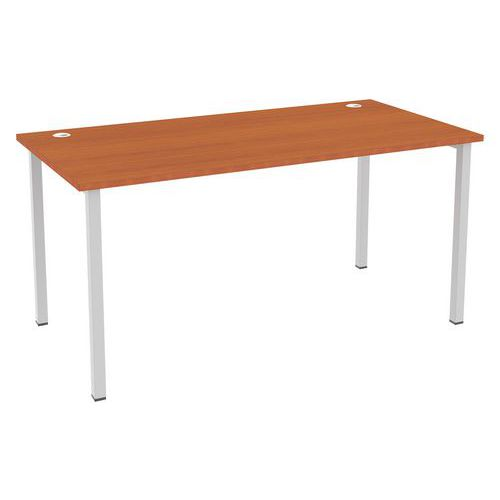 Kancelářské stoly Abonent, 160 x 80 x 75 cm, rovné provedení