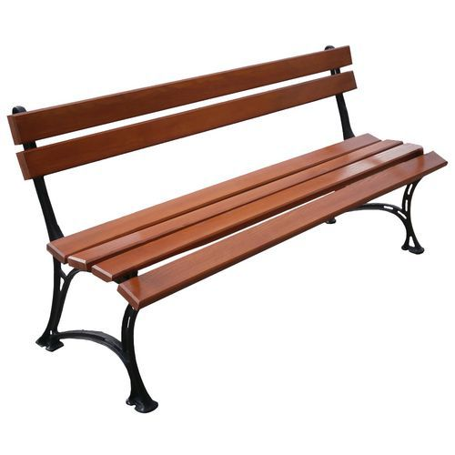 Parková lavička Queen s opěradlem
