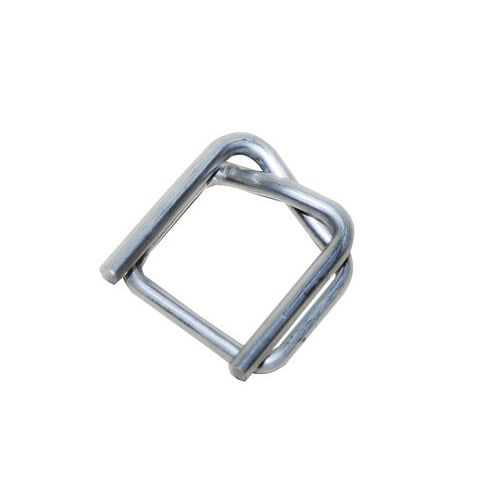 Ocelové pozinkované spony pro páskovače, drátové, 19 mm