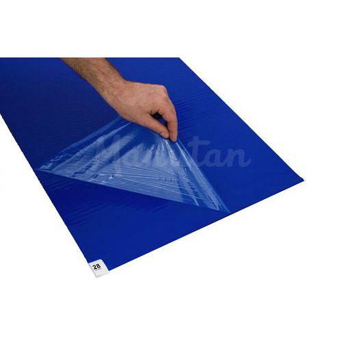 Lepicí rohož, 115 x 45 cm, modrá