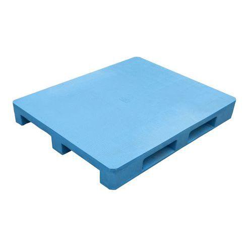 Manutan Plastová paleta, 15 x 120 x 100 cm, Max. statické zatížení: 5000 kg, Materiál: plast, Šířka: 1000 mm, Délka: 1200 mm, Výška: 150 mm, Max. dynamické za