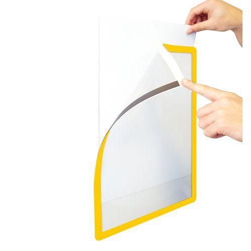 Informační kapsa Frames4Docs A3, magnetická, černá