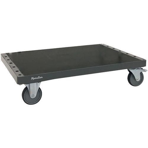 Pojízdný stojan na deskový materiál Manutan W1200