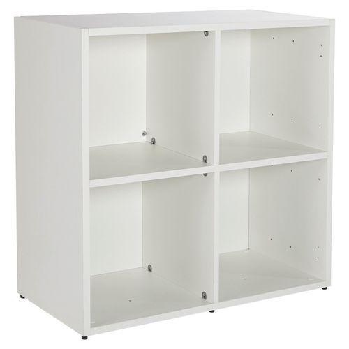 Děliče pro skříňku Manutan, 2 ks, Materiál desky: Dřevotříska, Dezén desky: Bílá, Výška: 370 mm, Šířka: 365 mm, Tloušťka plošiny: 16 mm - Prodloužená záruka na 10 let
