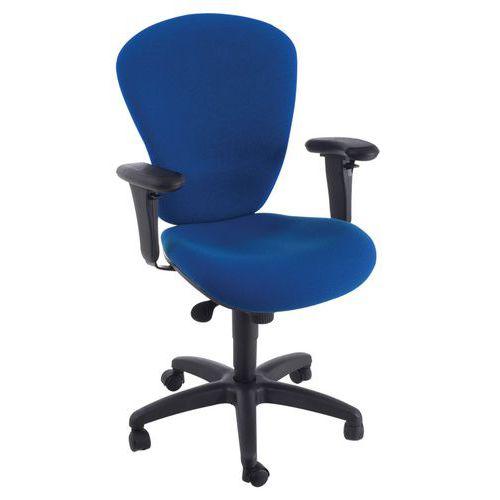 Kancelářská židle Harmonia, modrá