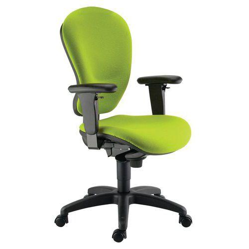 Kancelářská židle Harmonia, zelená