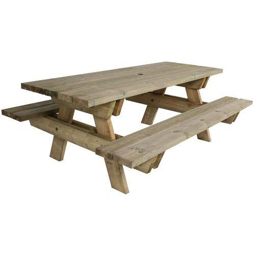 Piknikový stůl Manutan