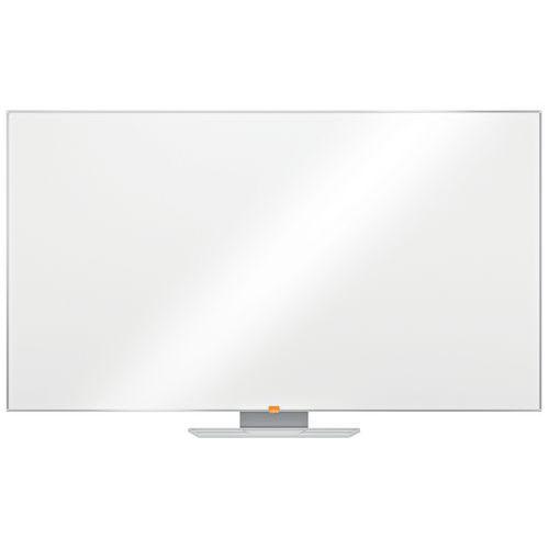 Bílá magnetická tabule Nobo, 155 x 87 cm