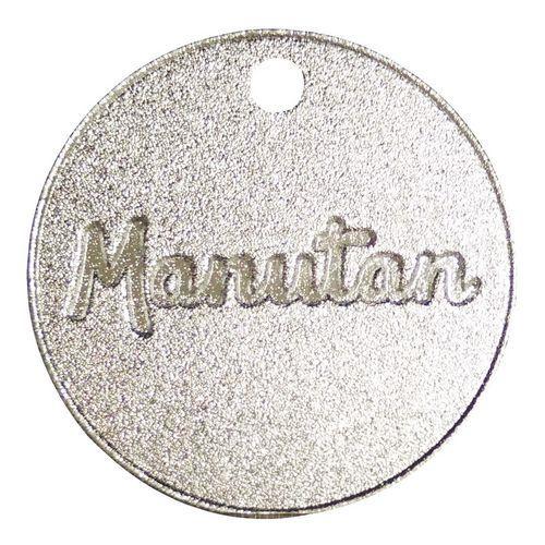 Hliníkový žeton Manutan, průměr 30 mm, číslovaný 101 - 200
