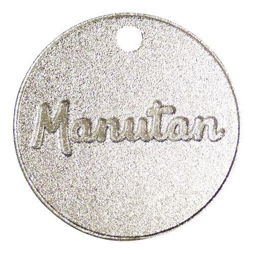 Hliníkový žeton Manutan, průměr 30 mm, číslovaný 001 - 100