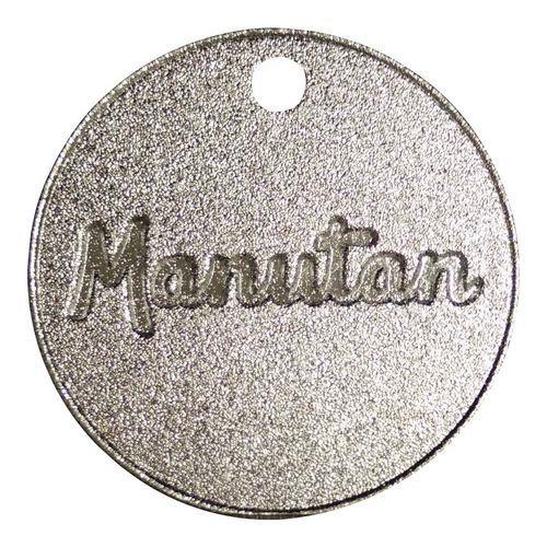 Hliníkový žeton Manutan, průměr 30 mm