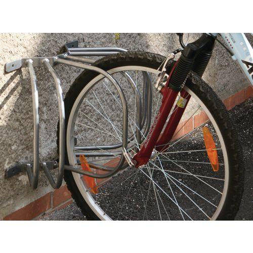 Venkovní nástěnný stojan na kola Laurent, pro 3 kola