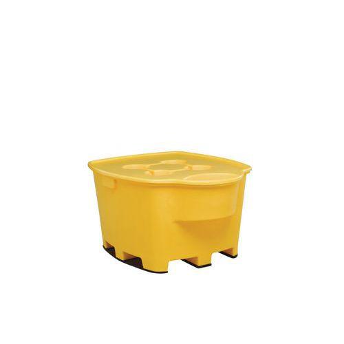 Plastová záchytná vana pod IBC a KTC kontejnery, pro 1 IBC kontejner, kapacita 1 030 l