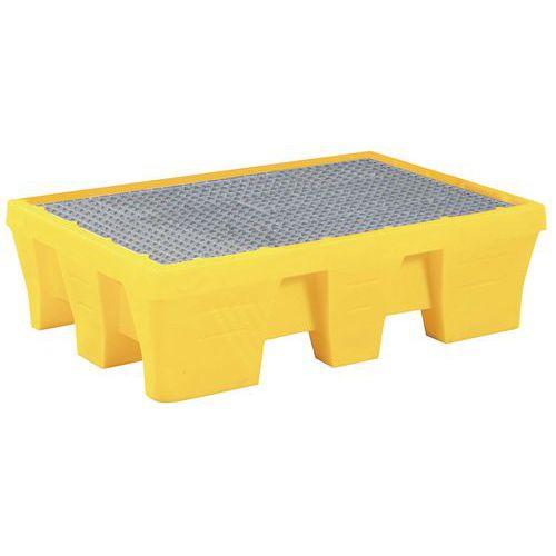 Plastová záchytná vana s roštem, kapacita 240 l