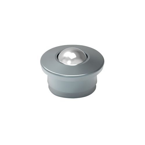 Kuličková kladka s přírubou pro nasouvání, průměr 15 mm