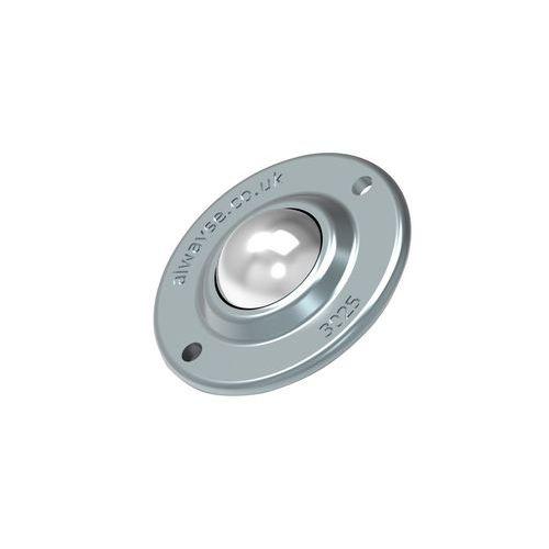 Kuličková kladka s přírubou, průměr 25 mm