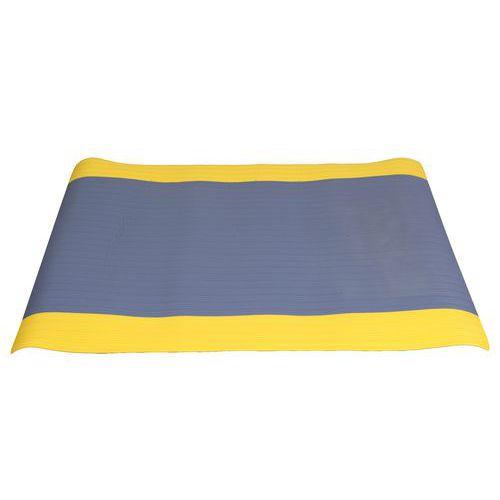 Protiúnavová průmyslová rohož s rýhovaným povrchem, šířka 90 cm, metrážová
