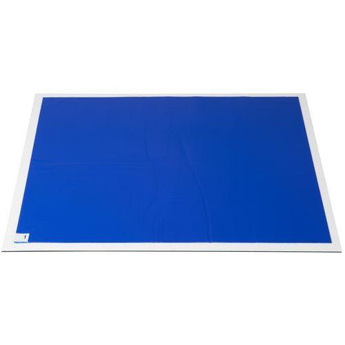 Lepicí rohože, 80 x 60 cm, modrá