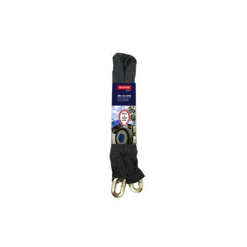 Bezpečnostní řetěz HARDENED s ochranným krytem z textílie, 14x10