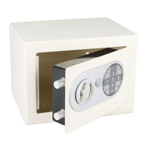 Nábytkový trezor s elektronickým zámkem, bílý - Prodloužená záruka na 10 let