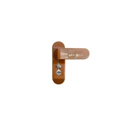 Bezpečnostní závorový zámek RHL pro plastová, hliníková a dřevěn