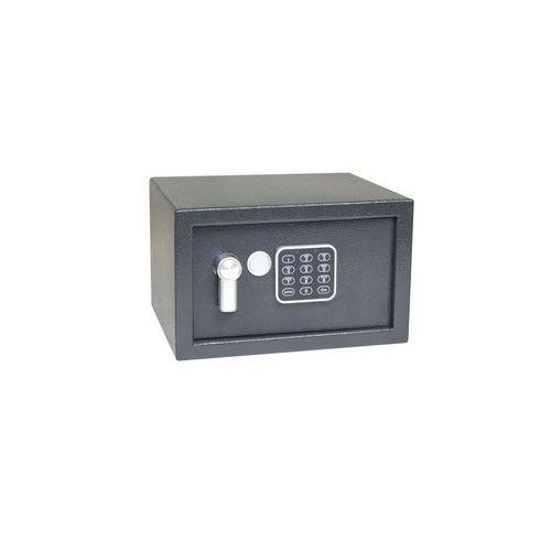 Nábytkový trezor s elektronickým zámkem, číselnou klávesnicí a páčkou k otevření, 180 x 290 x 250 mm - Prodloužená záruka na 10 let