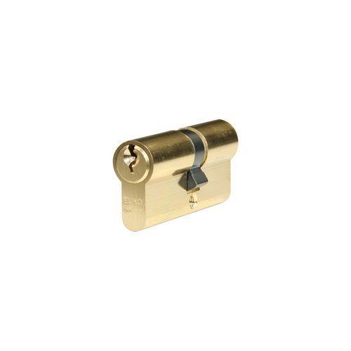 Bezpečnostní vložka EuroSecure s kouli, 30/35 mm, 3 klíče, mosaz