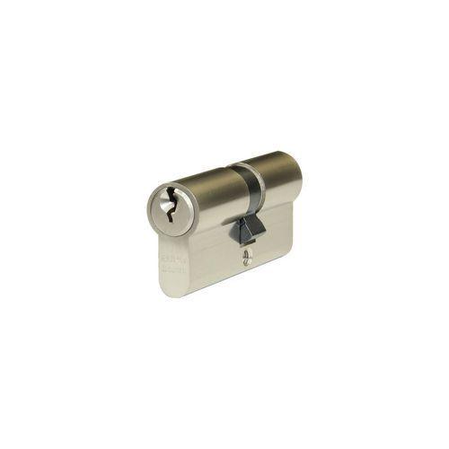 Bezpečnostní vložka EuroSecure s kouli, 30/35 mm s kouli, 3 klíče, nikl