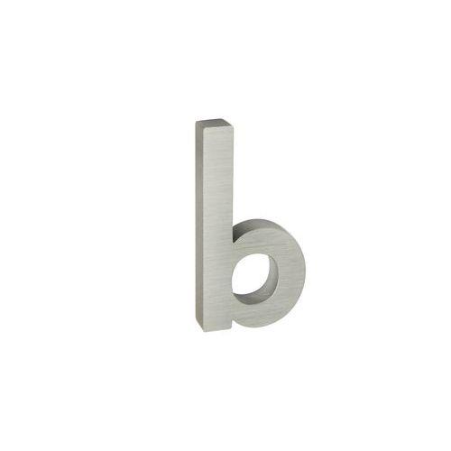 Hliníková čísla v 3D provedení s broušeným povrchem, stříbrná