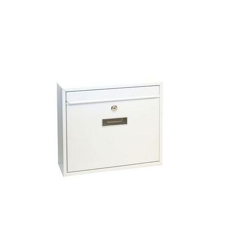 Modulová kovová poštovní schránka Casal, bílá