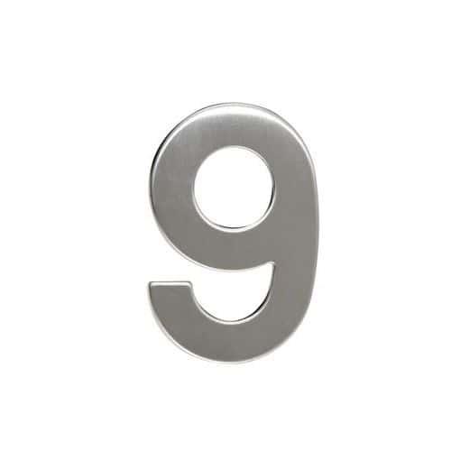 Nerezová čísla ve 2D provedení, výška 95 mm