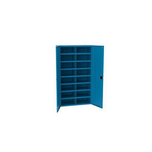 Kovová dílenská skříň s přihrádkami SFR162, 180 x 100 x 53 cm, m