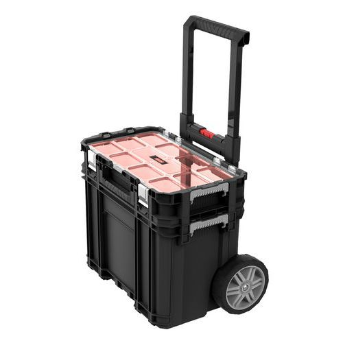 Keter CONNECT cart na kolečkách black/red 172056661