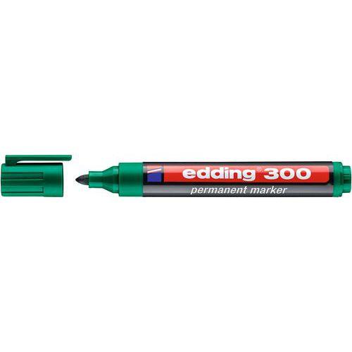 Permanentní popisovač Edding 300, zelený