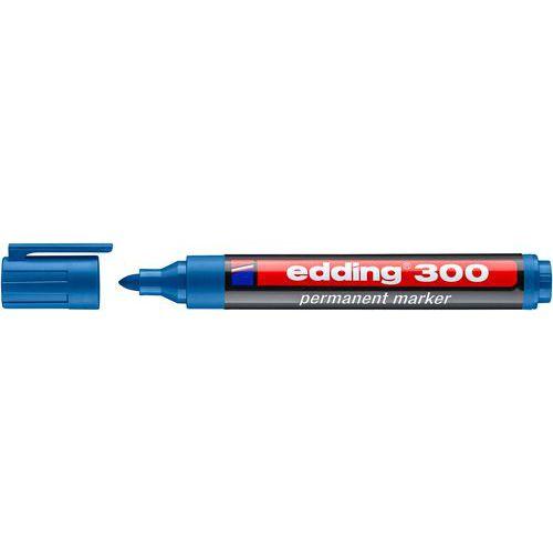 Permanentní popisovač Edding 300, modrý