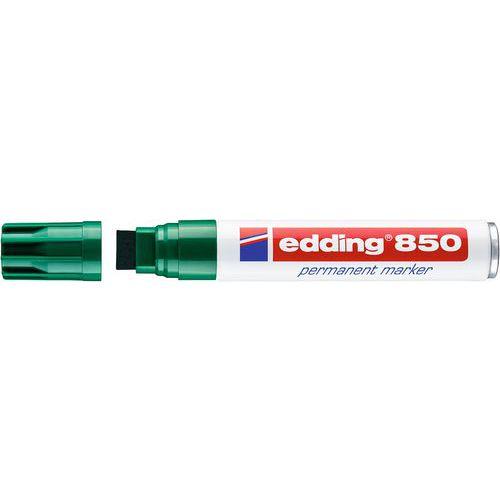 Permanentní popisovač Edding 850, zelený