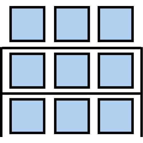 Paletový regál Cell, přístavbový, 210,6 x 270 x 110 cm, 3 200 kg
