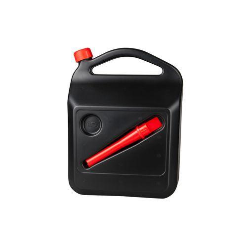 Kanystr na pohonné hmoty, černý, 10 l
