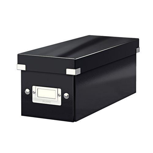 Ukládací box na CD Leitz, černý