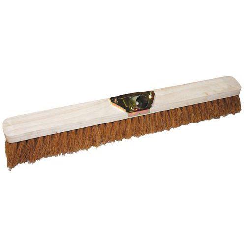 Dřevěný smeták Manutan Long bez tyče, 120 cm