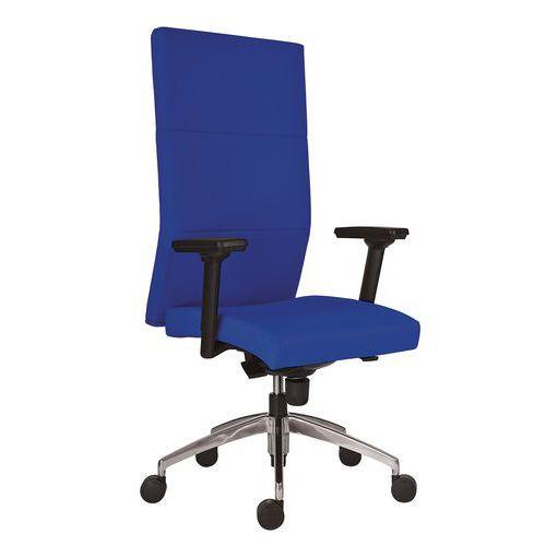 Kancelářské křeslo Vertika, tmavě modré - Prodloužená záruka na 10 let