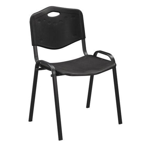 Plastové jídelní židle Manutan ISO