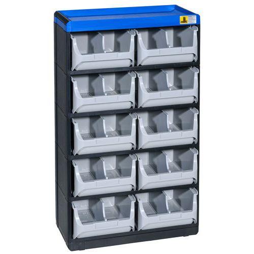 Allit Plastový organizér VarioPlus Pro 53/20, 10 zásuvek - Prodloužená záruka na 10 let
