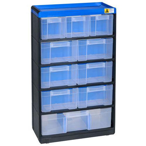 Allit Plastový organizér VarioPlus Pro 53/21, 10 zásuvek - Prodloužená záruka na 10 let