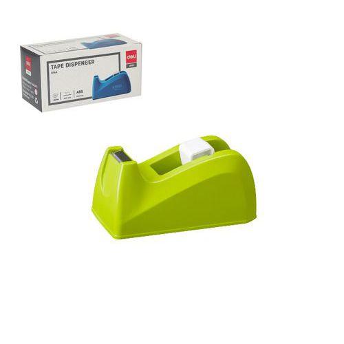 Odvíječ lepící pásky stolní DELI do 18mm, zelený