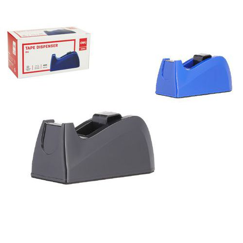 Odvíječ lepící pásky stolní DELI do 18mm, černý