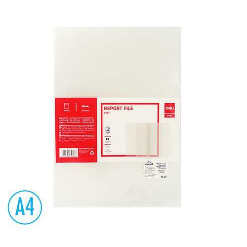 Obal DELI A4 L PVC transparentní, 100ks