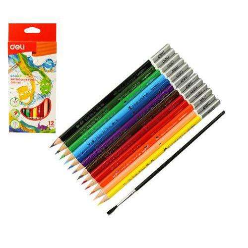 Pastelky DELI aquacolor 12 barev Color Emotion