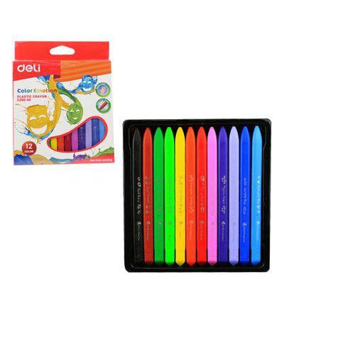 Pastely plasticolor DELI 12 barev Color Emotion